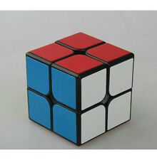 NEU 2X2 Puzzle Twist Magic ABS Ultra-glatte Profi Speed Cube schwarz