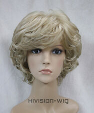 19 Colour Short Curly Women Ladies Daily Hair wig Hivision L-427B
