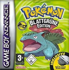 GameBoy Advance Spiel - Pokemon Blattgrüne Edition (DEUTSCH) (Modul)