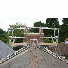 CHIMNEY SCAFFOLD ACCESS TOWER SYSTEM...ALUMINIUM INDUSTRIAL, HALF SET