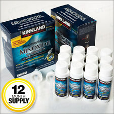 NEW Kirkland Minoxidil 5% Extra Strength Hair Loss Treatment Regrowth 12-Month