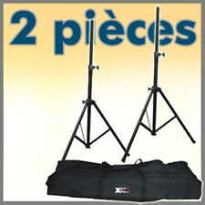 PAIR DJ PA SPEAKER STANDS STAGE TRIPOD TRANSPORT BAG * FREE P&P SPECIAL OFFER