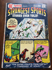 DC SPECIAL # 13 STRANGEST SPORTS STORIES EVER TOLD! VG CARMINE INFANTINO