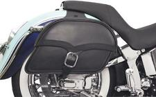 SADDLEMEN Midnight Express Drifter Slant Saddlebags (X02-02-051)