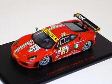 1/43 Red Line Ferrari F430 GT AF Corse Car #78 from 2008 24 Hours of leMans