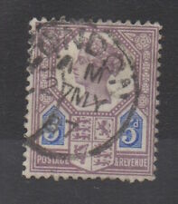 Vic-sg207. 5d purple/blue. Die I. Fine Used, London Cd, Transparente Fecha. Gato £ 120 +