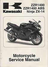 2013 KAWASAKI MOTORCYCE  NINJA 300 ABS  SERVICE MANUAL P/N 99924-1460-31 (672)