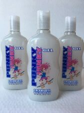 3X  Punky Junky Creamy Gel Max Hold { WHITE UNISEX STYLES WET LOOK} {17.63oz}