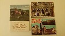 L'abbazia di Nostra Signora di Vezzolano - con 2 cartoline - COME NUOVO