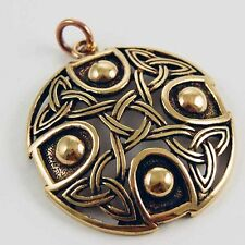 Bronze Pendant Celtic Circle