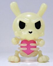 Dunny 2011 KRONK Bones with HEART - Skeleton -- no box, card or foil