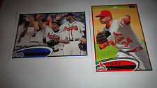 2012 TOPPS BASEBALL SINGLES, PLEASE PICK 100 FROM COMPLETE LISTING