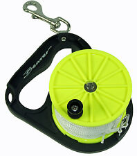 Osprey QUALITY DIVERS REEL + 80 Metres Line + SS Bolt Snap WRECK SMB NEW