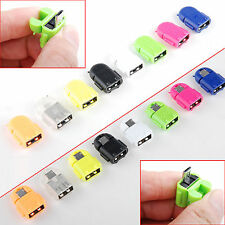 Robot Micro USB Host OTG Adapter Converter for Samsung Galaxy S3 S4 S5 Note2 il