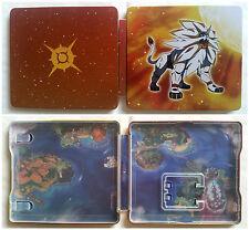 Steelbook 3DS Collector Pokémon Soleil / neuf / envoi gratuit, protégé