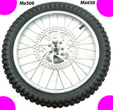 Razor MX500 & MX650 Dirt Rocket FRONT Wheel Assembly - works on ALL VERSIONS!