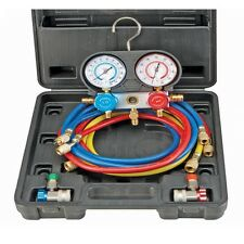 R134A A/C Manifold Gauge Set test, fill, evacuate auto air conditioning systems!