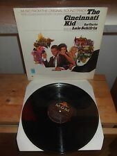 "Lalo Schifrin ‎""The Cincinnati Kid"" LP OST MGM USA  E-4313"