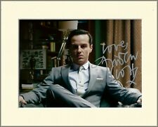 ANDREW SCOTT MORIARTY SHERLOCK PP 8x10 MOUNTED SIGNED AUTOGRAPH PHOTO