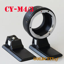 Contax Yashica CY Lens To Micro 4/3 M4/3 Adapter GF3 GH3 EPL3 EPL5 With Tripod