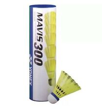 YONEX MAVIS 300 BADMINTON PLASTIC SHUTTLECOCKS MEDIUM SPEED 1 TUBE YELLOW RRP£13
