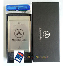 PCMCIA TO SD SDHC CARD Adapter for Mercedes-Benz+SanDisk 8G SD Card + USB Reader