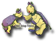 Vintage Turtle Stuffed Animal Toy Pattern