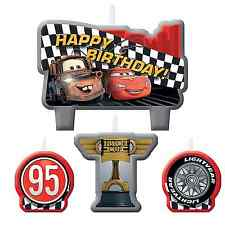 Disney Cars Formula Racer Birthday Mini Candle Set Birthday Party Decoration