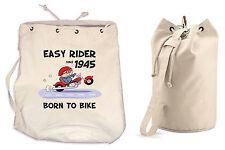 EASY Rider dal 1946 settantesimo compleanno MONTGOMERY SACCO-BIKER MOTO ZAINO PALESTRA