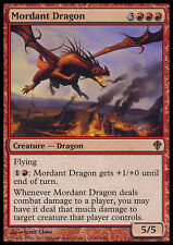 MTG MORDANT DRAGON ASIAN - DRAGO CAUSTICO - WWK - MAGIC