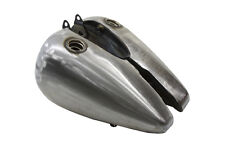 Bobbed 3.5 Gallon Gas Tank Set uses 1975-up petcock, Fits Harley FL 1947-1984