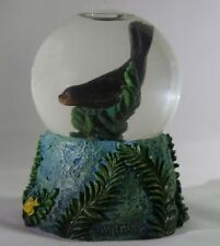 BOB WYLAND Sea Lion Water Globe Ball Seal Small Miniature by Famed Marine Artist