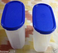 2 x Tupperware Modular Mate MM Oval #3 - 1.7 Ltr Dry Storage - New