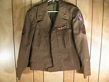 WWII US Army 95th Infantry Ike Uniform Coat 38R