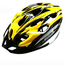 Unisex MTB Mountain Road Bicycle Bike Cycling Sports Safety Helmet Yellow Black