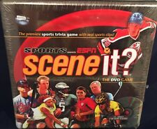 New Sports Scene it DVD Game ESPN NFL NBA MLB NHL Factory Sealed Box Screen Life