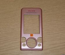 Genuina Original Sony Ericsson W580i Rosa Panel Frontal, cubierta