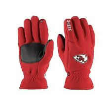 NWT NFL Kansas City Chiefs 180's Reebok Winter Fleece Gloves W/ Exhale Heating™