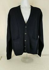 Yves Saint Laurent Cardigan Sweater for men size medium 100% Lambswool
