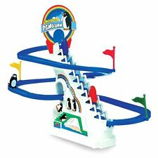 Retrò Divertente Playful Pinguino Gara ICE diapositiva RACING GAME-Boxed REGALO GIOCATTOLO