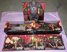 KONG SKULL ISLAND BIG LOT OF EXCLUSIVE SETS + MEGA KONG FIGURE **NEW**