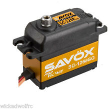 Savox SC-1268SG High Torque Steel Gear Digital Servo