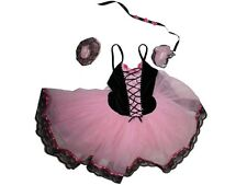 Girl Wolff Fording Pink Sound of Music Traditional Ballet Tutu Costume Size LC