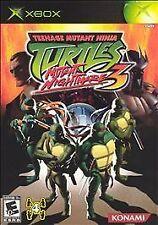 Teenage Mutant Ninja Turtles 3: Mutant Nightmare (Microsoft Xbox, 2005)
