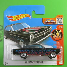 HOT WHEELS 2016 -  ´66 Ford 427 Fairlane  - HW Flames - 95 - neu in OVP