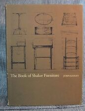 Book of Shaker Furniture John Kassay Massachusetts UP Amherst 1980 Hardback DJ