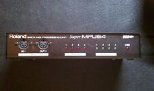 Roland Super MPU64 4in/4out USB Midi interface - Used