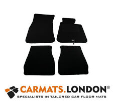 Bmw 3 Series E30 Saloon 1983 - 1992 Tailored Car Floor Mats Fitted Set in Black
