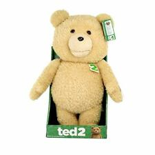 "Ted 2 talking teddy bear explicite plush with sound 16"" 16 pouces"