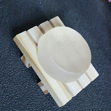 Board Wooden Natural Wood Bamboo Bathroom Oval Rectangular Shower Soap Dishes
